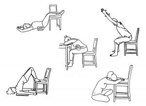 Illustration pour yoga